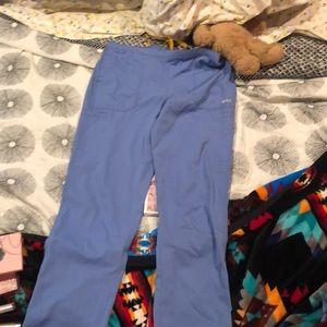 Carhartt scrub pants in size medium.